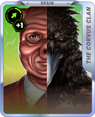 The Corvus Clan (Growth rate): Common